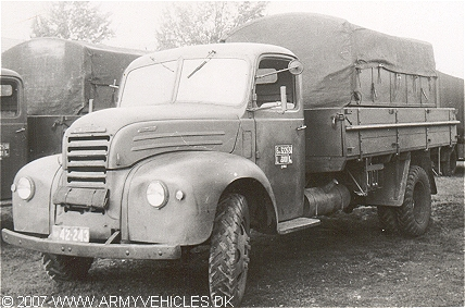 Ford Thames Etf 67 Danish Army Vehicles Homepage