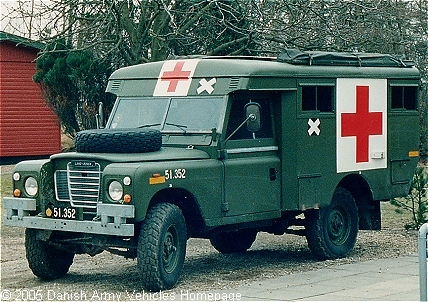 Landrover 109 S Iii Ambulance Danish Army Vehicles Homepage