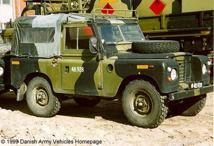 Landrover 88 Series Iii Danish Army Vehicles Homepage