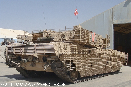 Leopard 2A5 DK (Rear view, right side)