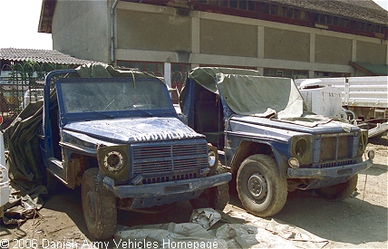 Mercedes-Benz GD, 4 x 4, 24V (Front view, right side)
