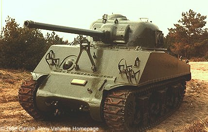 M4A3 Sherman (Front view, left side)