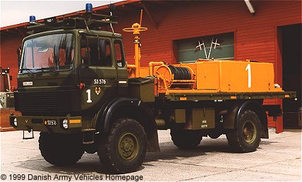 Magirus 110 - 16, 4 x 4, 24 V, D (front view, left side)