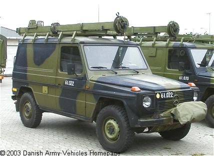 Mercedes 240 GD/28 - Danish Army Vehicles Homepage
