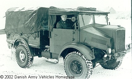 Morris Commercial C8 Gs Danish Army Vehicles Homepage