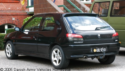 Peugeot 306 GTI, 4 x 2, 12V (Rear view, left side)