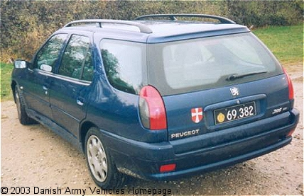 Peugeot 306 HDI, 4 x 2, 12V (Rear view, left side)