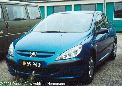 Peugeot 307, 4 x 2, 12V (Front view, left side)