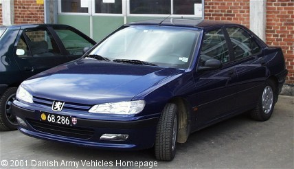 Peugeot 406, 4 x 2, 12V (Front view, left side)