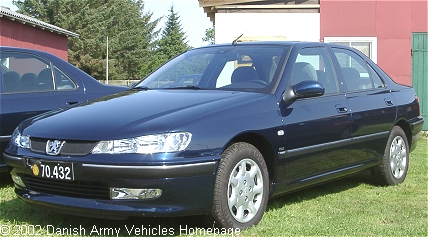 Peugeot 406 HDI, 4 x 2, 12V (Front view, left side)