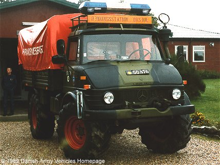 Unimog 416, 4 x 4, 24 V, D (Front view, right side)