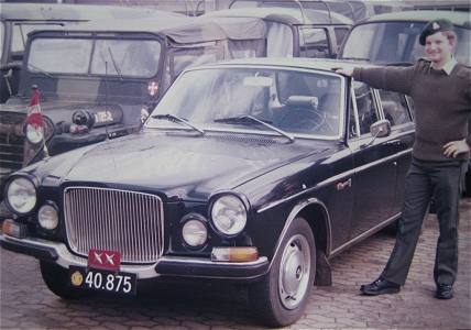 Volvo 164, 4 x 2, 12V (Front view, left side)