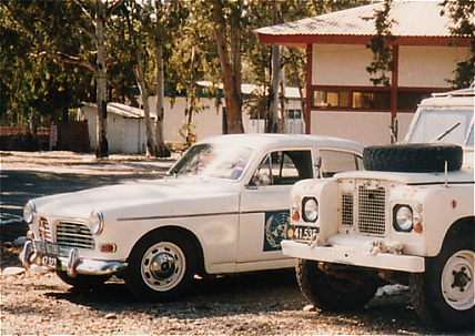 Volvo Amazon, 4 x 2, 12V (Front view, left side)