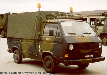 Vw T3 M245 Danish Army Vehicles Homepage