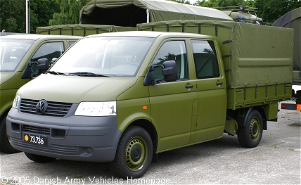 VW T5 - Danish Army Vehicles Homepage